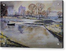 Morning Calm Acrylic Print by Rob Hemphill