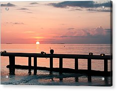 Acrylic Print featuring the photograph Morning Calm by Shirley Mitchell