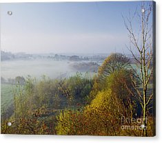 Morning Dust Acrylic Print by Heiko Koehrer-Wagner