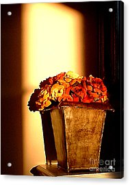 Morning Flowers Acrylic Print