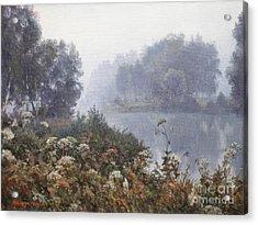 Morning Fog Acrylic Print by Andrey Soldatenko