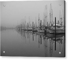 Morning Fog Acrylic Print
