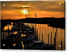 Acrylic Print featuring the photograph Morning Glow by Brian Hughes