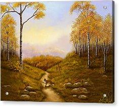 Morning Hunt Acrylic Print by Sena Wilson