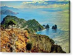 Morning In Capri Acrylic Print by Andre Salvador