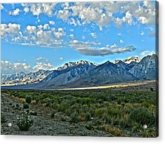 Morning In The Eastern Sierras Acrylic Print