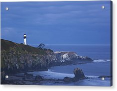 Morning Light Over Yaquina Head Acrylic Print by Craig Tuttle