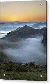 Morning Mist Acrylic Print by Dr Keith Wheeler