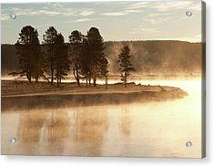 Morning Mists Acrylic Print by Corinna Stoeffl, Stoeffl Photography