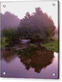 Morning Reflection Acrylic Print by Karen Grist