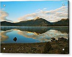 Morning Reflections Acrylic Print by Bob Berwyn