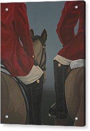 Morning Ride Acrylic Print by Jennifer Lynch