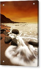 Morning Rush Acrylic Print by Mark Leader