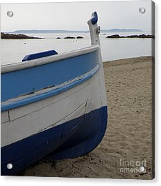 Morning Seascape Acrylic Print by Lainie Wrightson