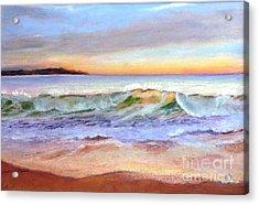 Morning Serenity-phillip Island Acrylic Print by Nadine Kelly