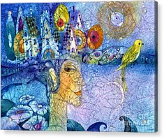 Morning Song Acrylic Print by Svetlana and Sabir Gadghievs