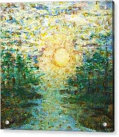 Morning Sun Acrylic Print by Andria Alex