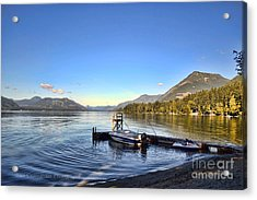 Mornings In British Columbia Acrylic Print