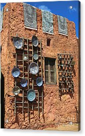Moroccan Marketplace Acrylic Print