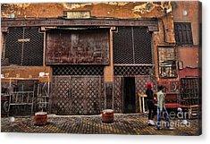 Morocco Life I Acrylic Print by Chuck Kuhn