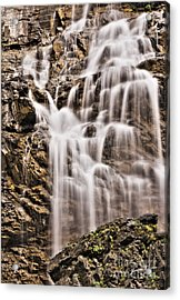 Acrylic Print featuring the photograph Morrell Falls 1 by Janie Johnson
