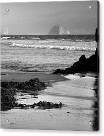 Morro Bay Shoreline V Acrylic Print by Steven Ainsworth