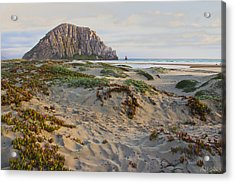 Morro Rock Acrylic Print by Heidi Smith