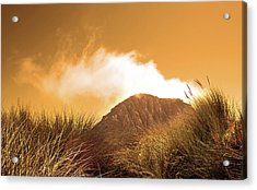 Acrylic Print featuring the photograph Morro Rock by Michael Rock