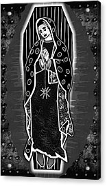 Morticia Guadalupe' Acrylic Print by Travis Burns