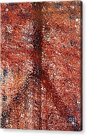 Mosaic Peace Acrylic Print by Robert Haigh