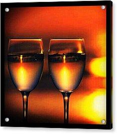 Moscato For 2...delish! #wine #vino Acrylic Print