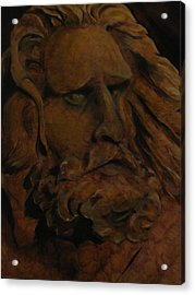 Moses Acrylic Print by Sherry Robinson