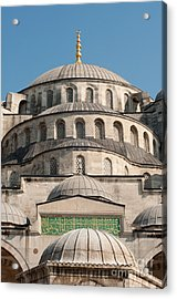 Acrylic Print featuring the photograph Mosque by Andrew  Michael