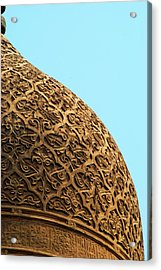 Mosque Dome Acrylic Print by Photo taken by Emad Omar