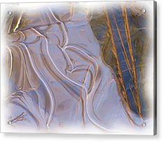 Mother Nature Does Ice Acrylic Print by Feva  Fotos