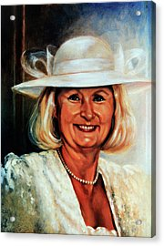 Mother Of The Bride Acrylic Print by Hanne Lore Koehler