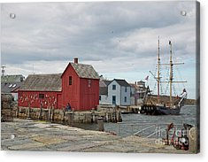 Motif No.1 With Fisherman Acrylic Print