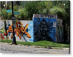 Motor City Art Acrylic Print by Dennis Pintoski