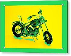 Motorbike 1b Acrylic Print