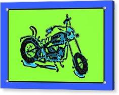 Motorbike 1c Acrylic Print by Mauro Celotti