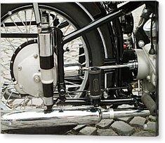 Motorcycle Acrylic Print by Odon Czintos