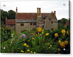Acrylic Print featuring the photograph Mottiston Manor by Carla Parris