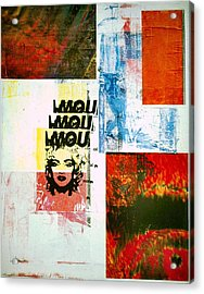 MOU Acrylic Print by David Deak