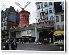 Moulin Rouge Acrylic Print by Theo Bethel