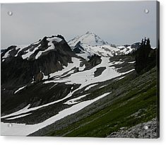 Acrylic Print featuring the photograph Mount Baker by Karen Molenaar Terrell