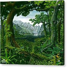 Mount Chirripo  Acrylic Print