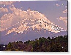 Mount Fuji Acrylic Print by David Rucker