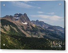 Acrylic Print featuring the photograph Mount Gould O Garden Wall To Haystack Butte by Katie LaSalle-Lowery