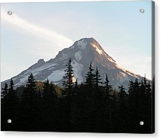 Acrylic Print featuring the photograph Mount Hood Oregon by Rand Swift