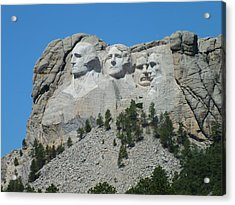 Mount Rushmore From A Different View Acrylic Print